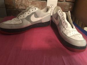 Nike Air Force 1- 2007 White/Gray - Men's Size 13 for Sale in Houston, TX