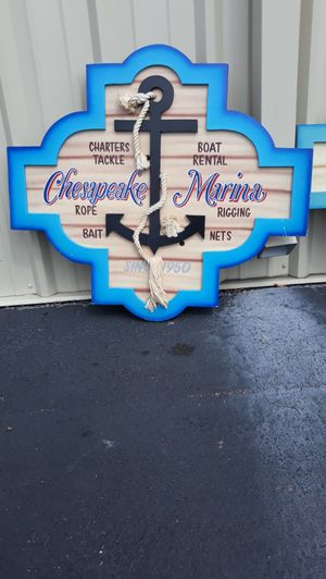 LARGE NAUTICAL RESTAURANT ART#10 for Sale in Virginia Beach, VA