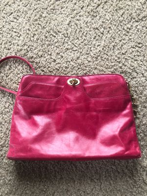 Hobo Leather Fuschia colored bag for Sale in New York, NY