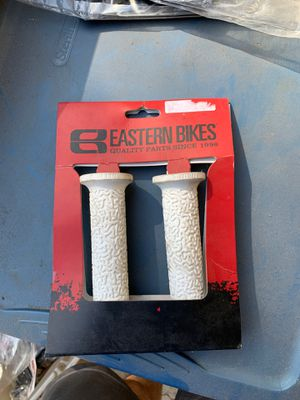 Brand new white bmx grips for Sale in Poway, CA