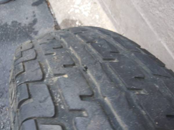 16 inch 8 lug steel rim and tire. Trailer, Dodge, Ford, Chevy, spare