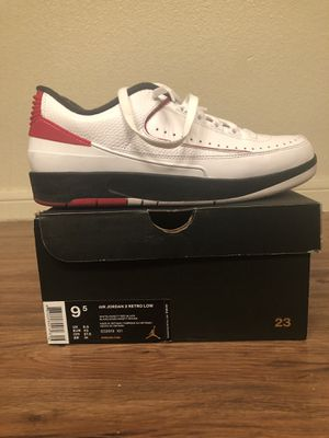 Air Jordan 2 Retro Low - 9.5 for Sale in Dallas, TX