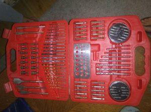 Drillbit set$45,laser level w/ case,Table saw routr for Sale in Lancaster, SC