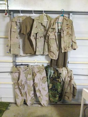 Military issued clothing bundle size large for Sale in Port Neches, TX