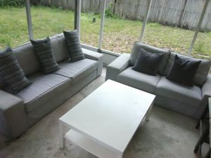 2 Main Couchs with 3 Stand tables for Sale in Tampa, FL