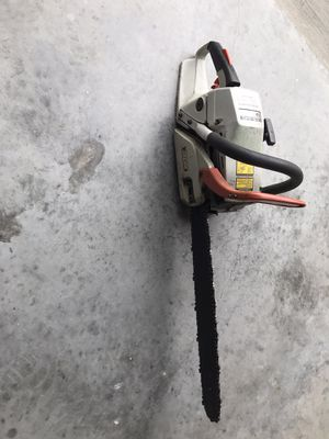 Good running chainsaw it's not junk so don't makes stupid offers price it's firm for Sale in Ocoee, FL
