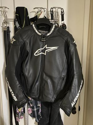 Alpinestars GP PRO LEATHER JACKET | Track Jacket | Motorcycle Jacket | Size 46 USA for Sale in Lancaster, CA