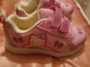Hello Kitty shoes girls size 12 for Sale in Austin, TX