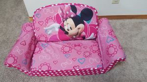 Minnie mouse, fold and unfold, toddler sofa. for Sale in Hillsboro, OR
