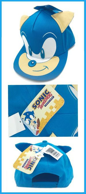 Brand NEW! Sonic The Hedgehog Novelty Snapback Kids/Youth Hat/Cap For Everyday Use/Outdoors/Traveling/Parties/Gaming/Toys/Birthday Gifts for Sale in Carson, CA