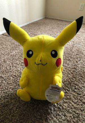Pokémon Pikachu Character Plush-stuffed animal for Sale in Chino, CA