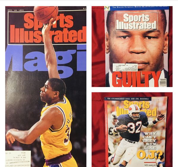 Collectible Sports Illustrated set