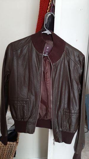 Forever 21 Brown Leather Jacket for Sale in Nashville, TN