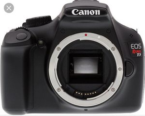 Canon Rebel T3 DSLR for Sale in Woodbridge Township, NJ