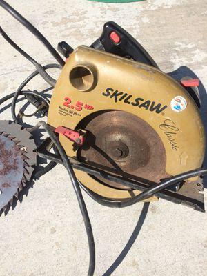 Skilsaw 2.5 hp w/3 Blades for Sale in Escalon, CA