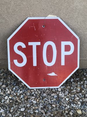 Stop sign for Sale in Victorville, CA