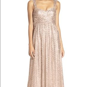 Rose gold Amsale bridesmaid wedding Dress for Sale in Chicago, IL