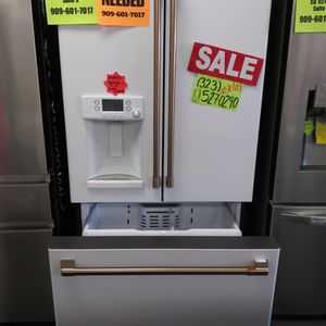 KEURIG CAFE WHITE FRENCH DOOR REFRIGERATOR**DISCOUNTS** 📢‼️💥 PAYMENT PLANS 💥⚡️ FAST DELIVERY ⚡️❌ NO CREDIT NEEDED ❌ for Sale in Menifee, CA