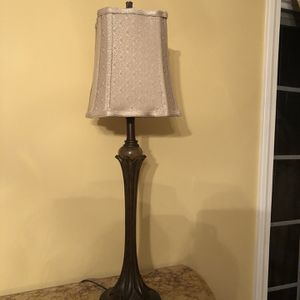 2 Lovely Neutral Lamps for Sale in Oak Brook, IL