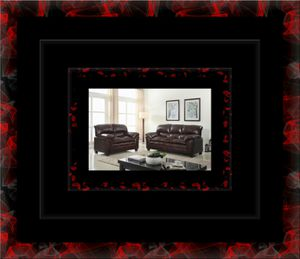 Burgundy sofa and loveseat for Sale in Crofton, MD