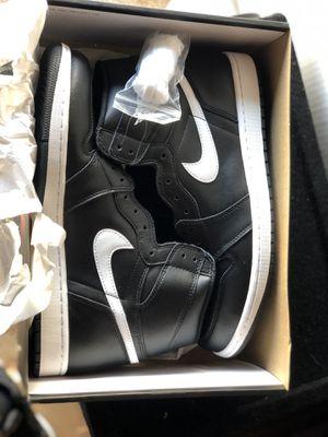 New Nike Jordan 1 Ying Yang size 11.5 black/white for Sale in La Mirada, CA