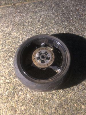 GSXR 1000 Rear Wheel for Sale in Maple Valley, WA