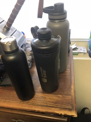 Blender bottle and bottles for Sale in Aurora, CO