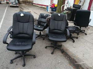 leather computer chairs for Sale in NC, US