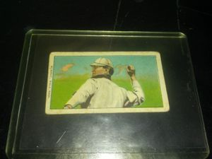 Authentic 1909-1911 T206 Baseball Card - Murphy throwing for Sale for sale  Las Vegas, NV