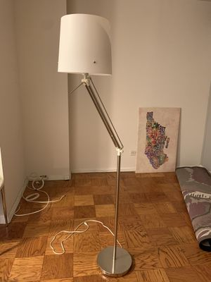 IKEA white standing lamp for Sale in New York, NY