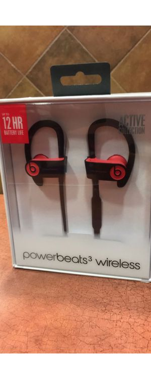 Powerbeats 3 (Active Red) for Sale in Citronelle, AL