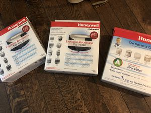 3x Honeywell Air Purifier Universal Filter Pre-Filter for Sale in Los Angeles, CA