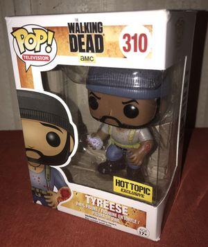 Funko POP tithe Walking Dead Tyrese (damaged box) for Sale in El Paso, TX