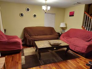 Leather Sofa Set for Sale in Alafaya, FL