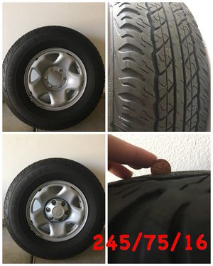 LIKE NEW! 4 Tires & Wheels -6 lug for Sale in San Diego, CA