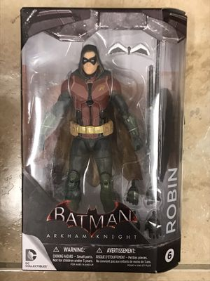 New! Sealed! Batman Arkham Knight ROBIN 7in Action Figure DC Collectibles for Sale in Miami, FL
