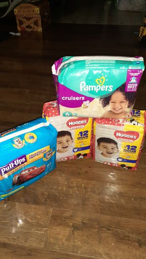 Pampers for Sale in San Antonio, TX