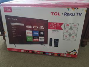 TCL 43FP110 43 inch Smart Roku TV for Sale in Torrance, CA