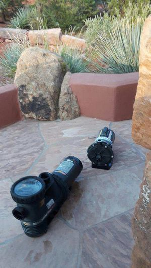 POOL PUMP -JACUZZI MAGNUM POOL PUMP with Polaris Pressure Cleaner Booster for Sale in Phoenix, AZ