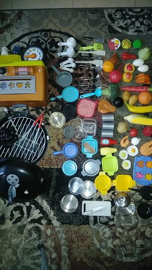 Kitchen, grill and food toys for Sale in Norwalk, CA