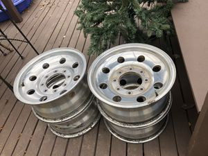 Four 16 inch chrome rims for Sale in Hillsboro, OR