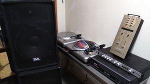 Dj equipment. (2) Vestax pdx-2000, vestax pmc-06 pro, gemini pa-7000, gemini xga-3000 and ( 2)seismic audio sa-15 t speakers for Sale in Vancouver, WA