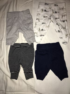 Newborn pants- baby boy joggers for Sale in Norcross, GA