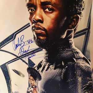 Black Panther Movie Poster signed by entire cast and Director for Sale in McLean, VA