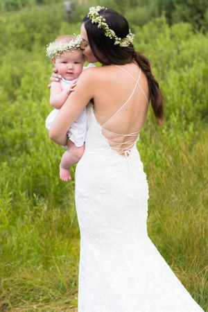 One of a kind detailed wedding dress for Sale in Salt Lake City, UT