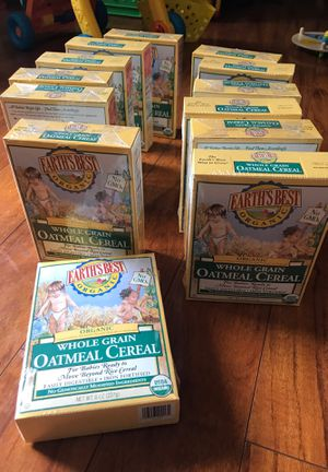 Whole grain oatmeal cereal for Sale in Aloha, OR