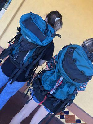 Set of 2 hiking backpacks for Sale in Fullerton, CA
