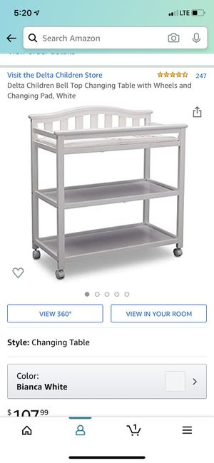 Delta changing table for Sale in New York, NY
