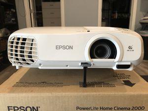 Epsone Powerlite Home Cinema 2000 Projector for Sale in Corona, CA