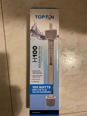 Aquarium heater H 100W for Sale in Brooklyn, NY